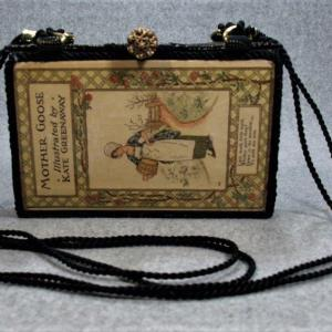 Mother Goose or the Old Nursery Rhymes Vintage Book Purse