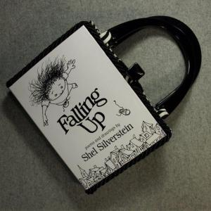 Falling Up Vintage Book Hand Purse