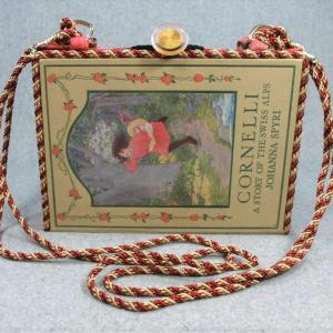 Cornelli – A Story of the Swiss Alps Vintage Book Purse
