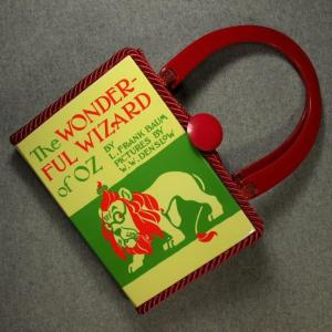 The Wonderful Wizard of Oz Vintage Book Tablet Purse