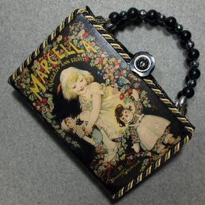 Marcella Stories Vintage Book Hand Purse