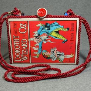 Dorothy and The Wizard of Oz Vintage Book Shoulder Purse