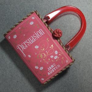 Persuasion Vintage Book Hand Purse