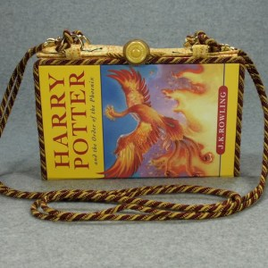 Harry Potter and The Order of the Pheonix Book Purse