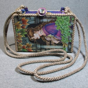 Jane Eyre Vintage Book Shoulder Purse