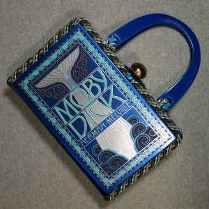 Moby Dick Vintage Book Hand Purse