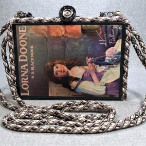 Lorna Doone Vintage Book Shoulder Purse