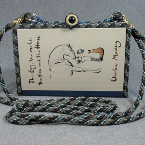 The Boy, the Mole, the Fox and the Horse Vintage Book Shoulder Purse