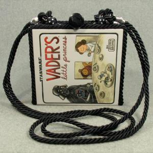 Vader's Little Princess Vintage Book Shoulder Purse