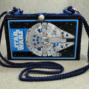 Star Wars The Han Solo Trilogy Vintage Book Shoulder Purse