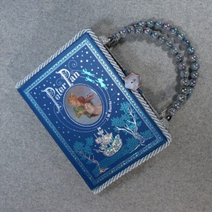 Peter Pan Vintage Book Hand Purse
