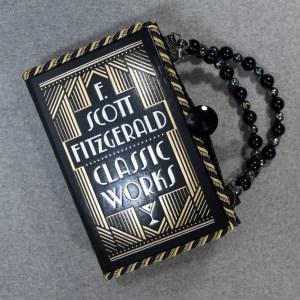 F. Scott Fitzgerald Classics Works Vintage Book Hand Purse