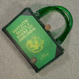Fantastic Beasts and Where to Find Them  Vintage Book Hand Purse