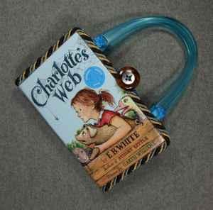 Charlotte's Web Vintage Hand Purse
