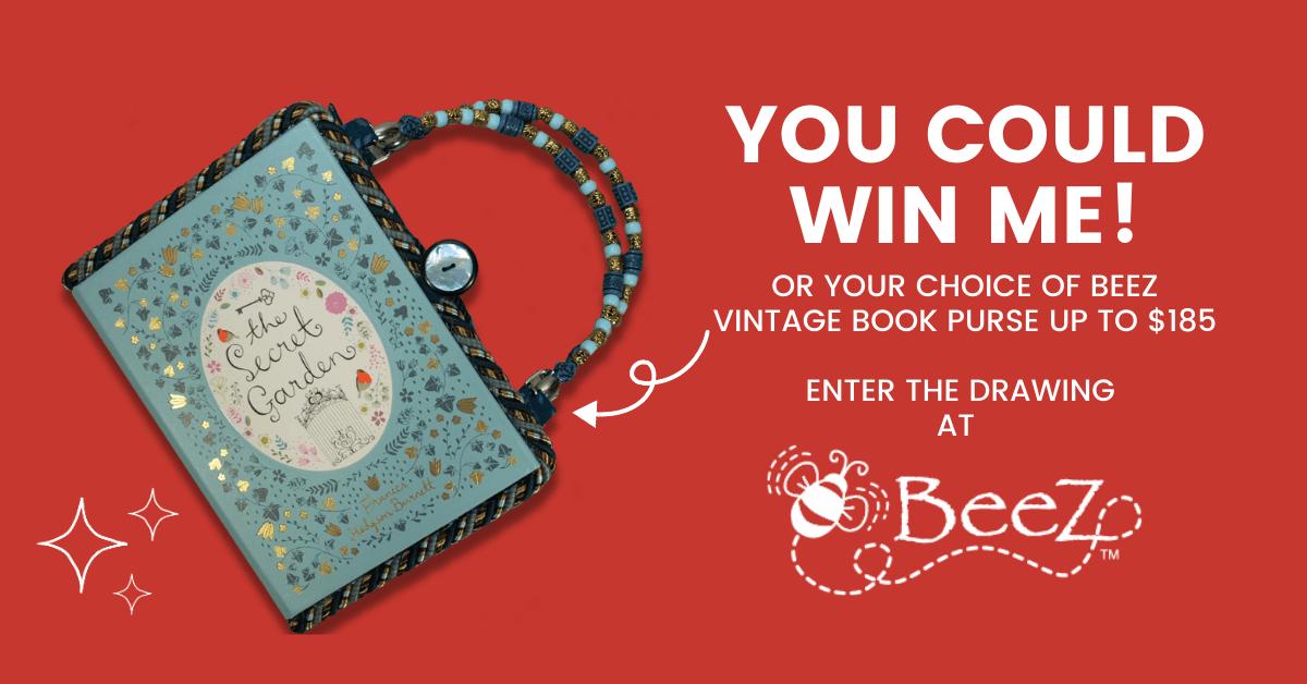 Win a Free BeeZ Vintage Book Purse!