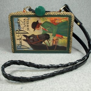 Black Beauty Vintage Book Purse