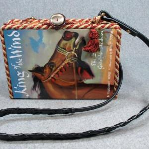 King of The Wind Vintage Book Shoulder Purse