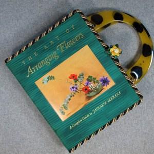 The Art of Arranging Flowers Laptop Hand Purse
