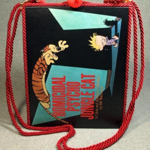 Homicidal Psycho Jungle Cat Tablet Book Purse