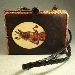The Old West – The Indians Tablet Book Purse