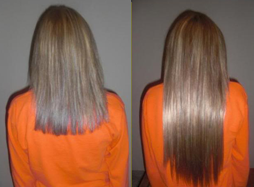 Imagini pentru grow hair before and after