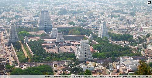 Tiruvannamalai main temple.