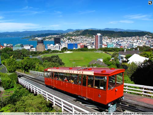 Wellington cable car, New Zealand