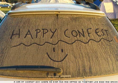 Confest. Pictures by Simon Jones.