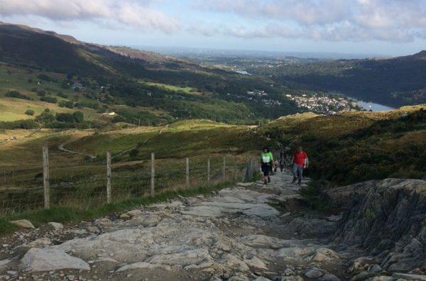 Noreen Sumra Ascending Mount Snowdon