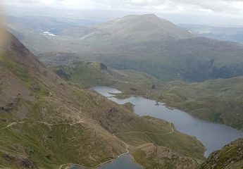 View from Mount Snowdon
