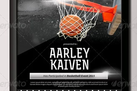 300 Best Certificate Templates 2018 Basketball Certificate template