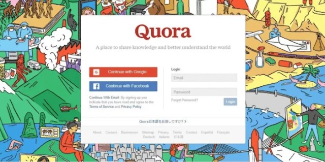 Drive traffic from Quora