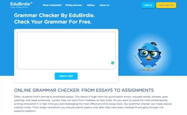 EduBirdie Grammar Checker