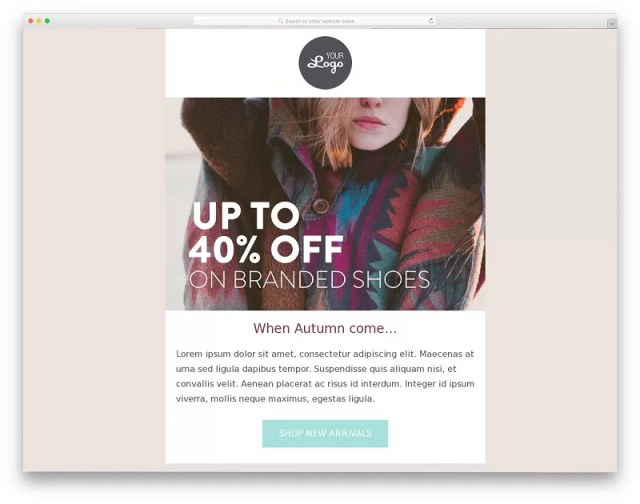 Fashion Discount Email Template