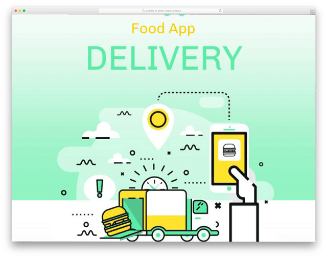 Food Delivery Email Template