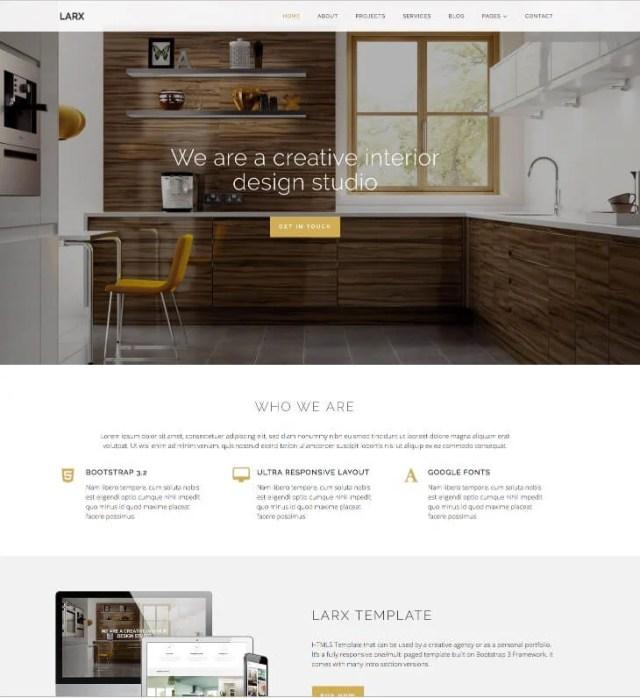 Larx Interior Design Template