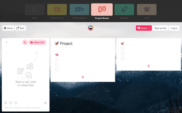 Taskade User Interface