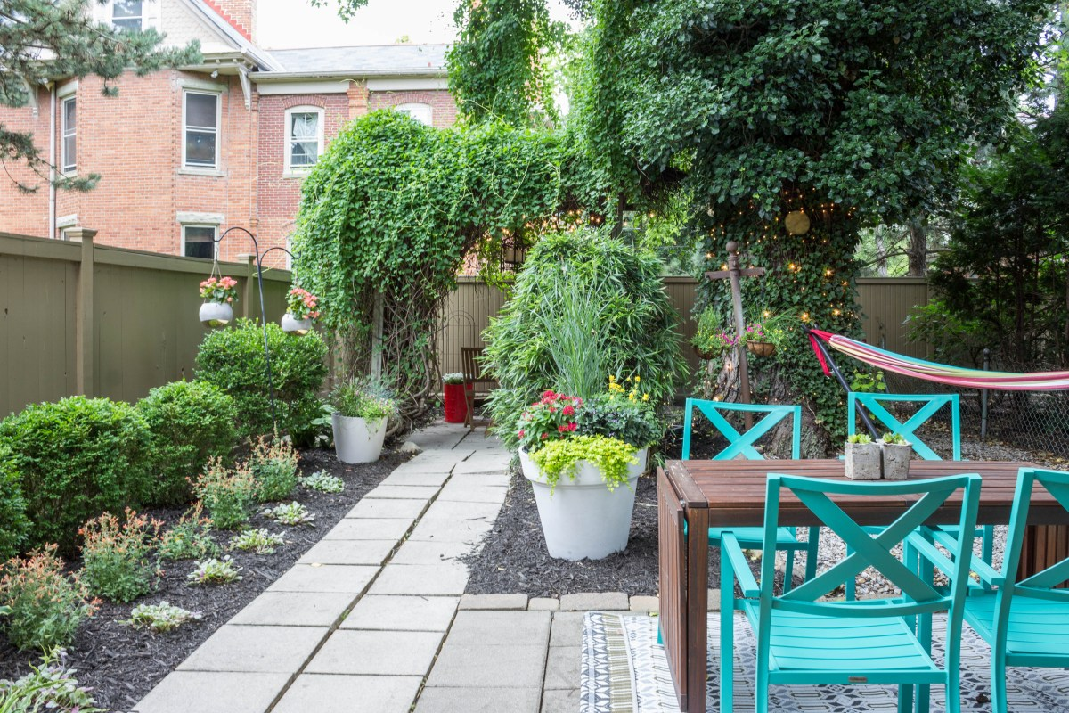 Whimsical Backyard Makeover