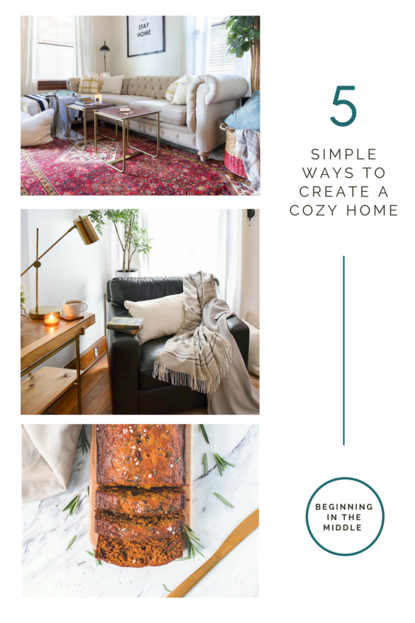 5 Simple Ways to Create a Cozy Home