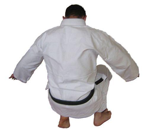 Ushiro Ukemi, or Back Breakfall