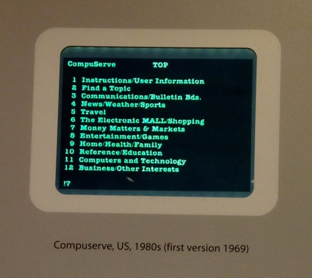 Compuserve in the early 80's, Computer History Museum