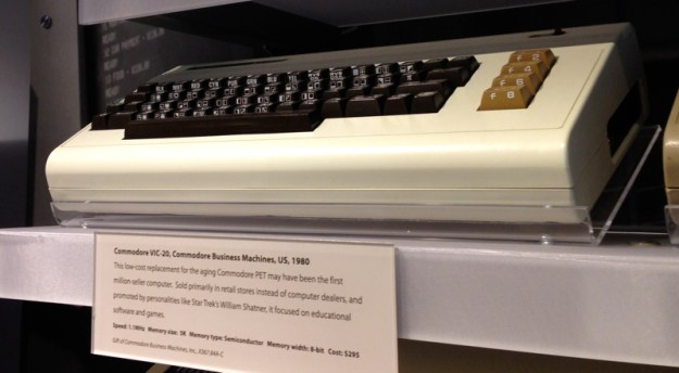 Commodore Vic 20, Computer History Museum