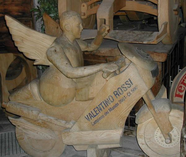 wooden Rossi