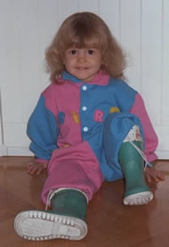 Rossella age 2 or 3
