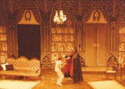 Martin Baynes as Renfield and Mike Nicklin as Dracula, Jakarta 1984