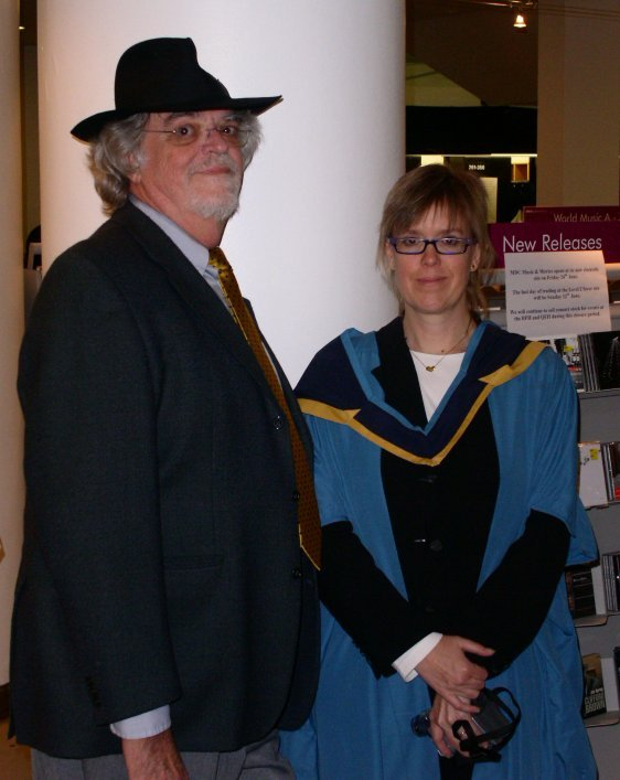 dad at my MBA grad
