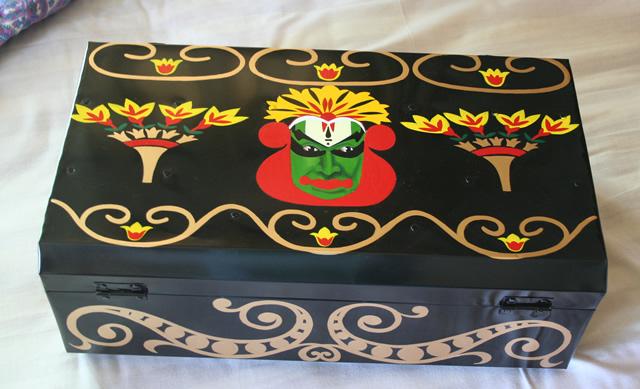 Rashmi Dogra tin trunk