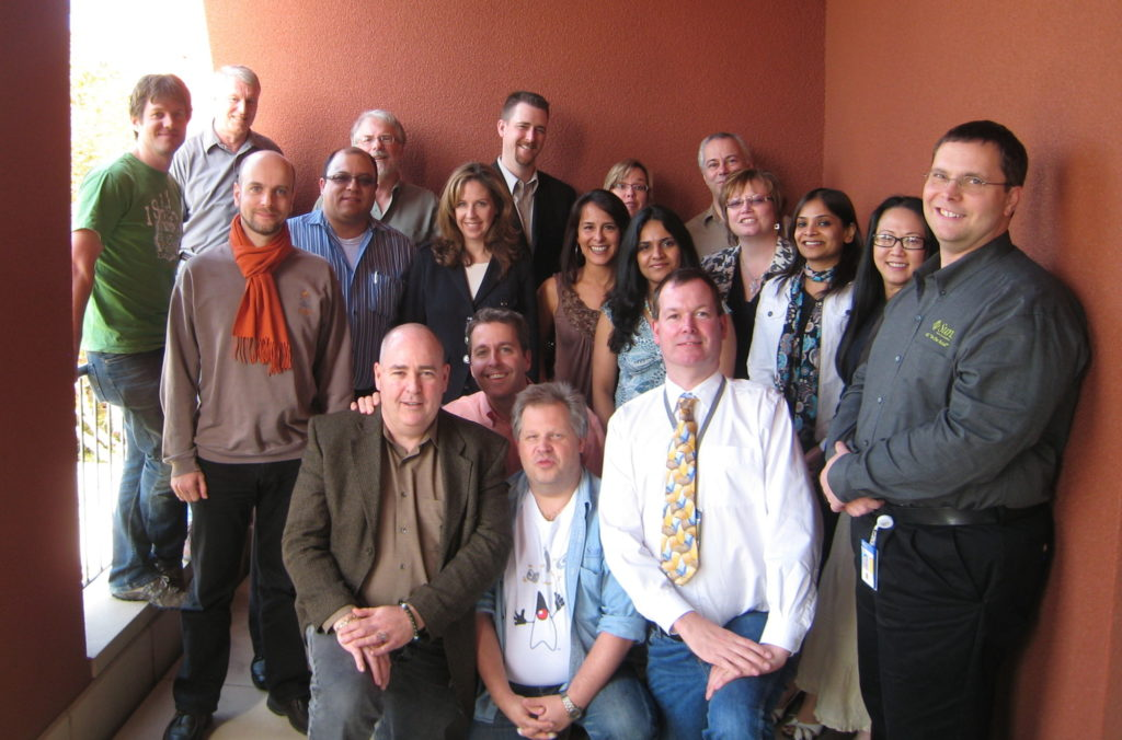 a bunch of Sun product managers, 2010