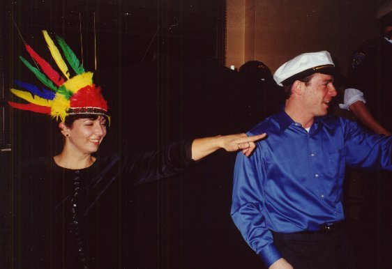 Val & Tim dancing to YMCA