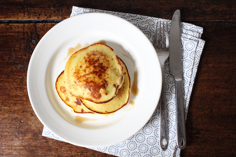 Zelf maken: ricotta pancakes recept